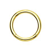 Micro Segmentring vergoldet