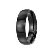 Ring schwarz gebürstet