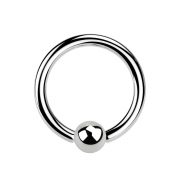 Ball Closure Ring silber