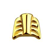 Micro Pfeil vergoldet