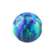 Ball Closure Kugel Opal blau
