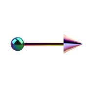Micro Barbell farbig mit Kugel und Cone