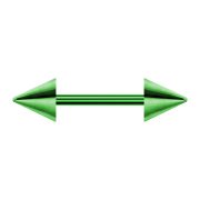 Micro Barbell grün mit Cone
