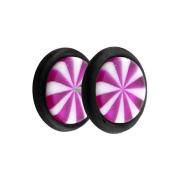 Fake Plug Twistet violett
