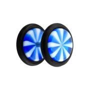 Fake Plug Twistet blau