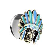Flared Plug Indianer