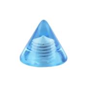Cone hellblau transparent