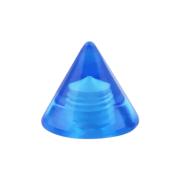 Cone dunkelblau transparent