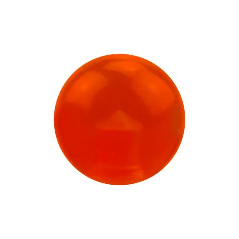 Kugel rot transparent
