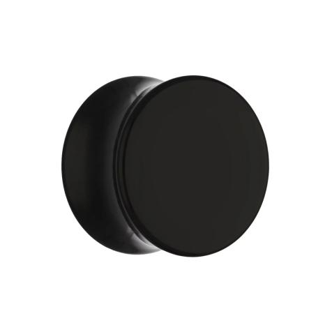 Flared Plug schwarz