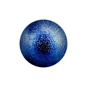 Kugel blau gesprenkelt