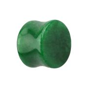 Flared Plug aus Jade Stein