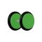 Fake Plug grün mit O-Ring