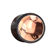Flared Plug aus Sonoholz mit Kupferzinn