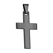Anhänger schwarz Kreuz