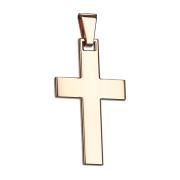 Anhänger rosegold Kreuz