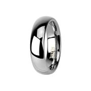 Ring silber hochglanzpoliert