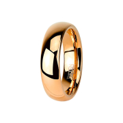 Ring rosegold hochglanzpoliert