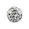 Kristall Kugel silber Epoxy Schutzschicht