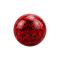 Kristall Kugel rot mit Epoxy Schutzschicht