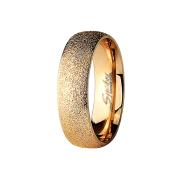 Ring rosegold gesprenkelt