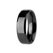 Ring schwarz Kanten abgerundet