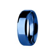 Ring blau Kanten abgerundet