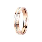 Ring rosegold Lorbeerkranz