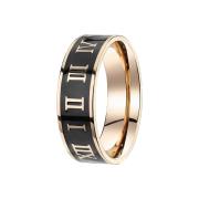 Ring rosegold Römische Zahlen