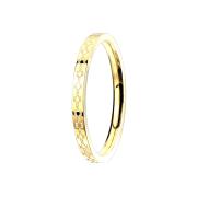 Ring vergoldet filigrane Blumen