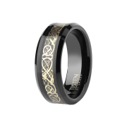 Ring schwarz Vintage