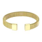 Armband vergoldet mit flexiblem Mesh