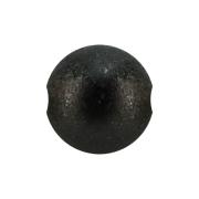 Ball Closure Kugel schwarz gesprenkelt
