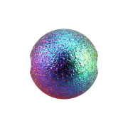 Ball Closure Kugel farbig gesprenkelt