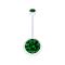 Banane Schwangerschaft transparent mit zwei Kristallkugeln gross grün
