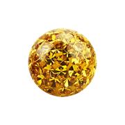 Micro Kristall Kugel topaz Epoxy Schutzschicht
