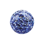 Micro Kristall Kugel hellblau Epoxy Schutzschicht