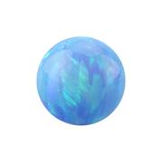 Micro Kugel Opal hellblau