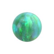 Micro Kugel Opal grün