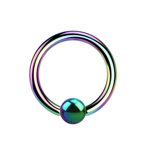 Micro Ball Closure Ring farbig