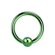 Micro Ball Closure Ring grün