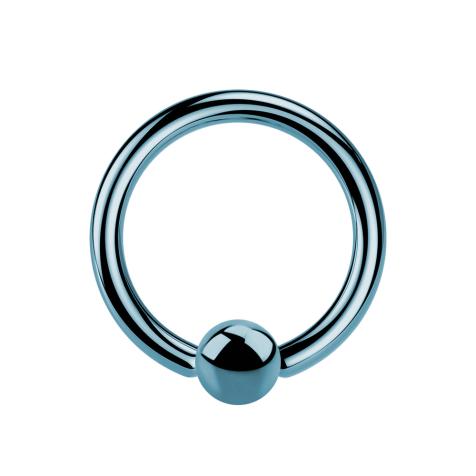 Ball Closure Ring hellblau