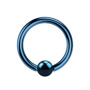Ball Closure Ring dunkelblau