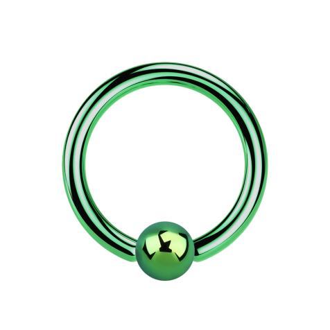 Ball Closure Ring grün