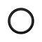 Micro Segmentring schwarz klappbar