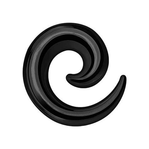 Dehnspirale schwarz