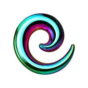 Dehnspirale farbig