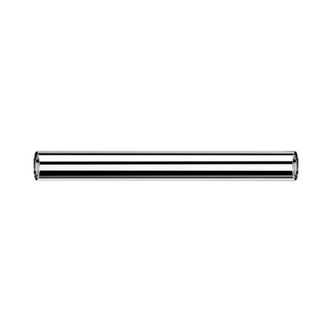 Barbell-Stab silber mit 1.2 mm Innengewinde