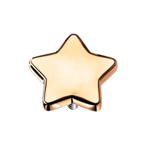 Dermal Anchor Stern rosegold