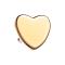 Dermal Anchor Herz rosegold